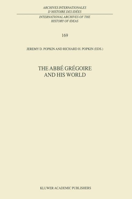 Cover of 'The Abbé Grégoire and his World'