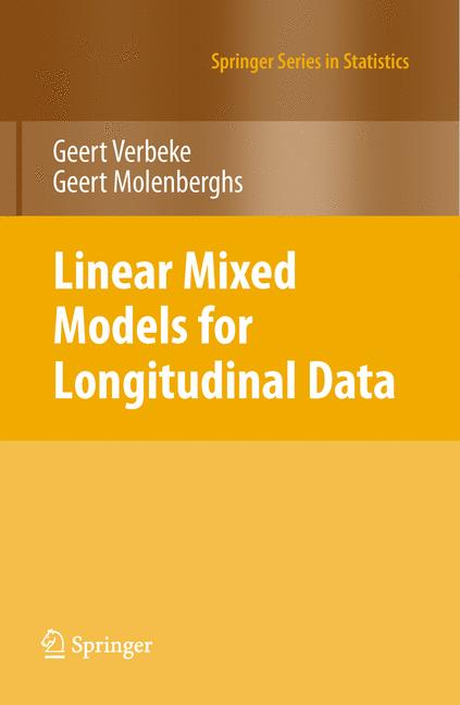 Cover of 'Linear mixed models for longitudinal data'