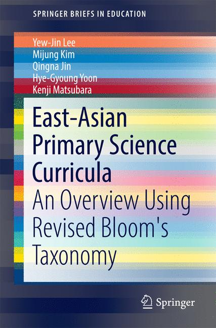 Cover of 'East-Asian Primary Science Curricula'