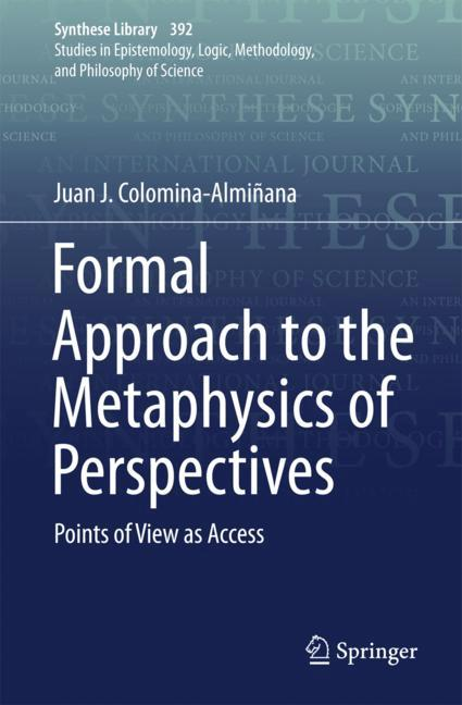 Cover of 'Formal Approach to the Metaphysics of Perspectives'