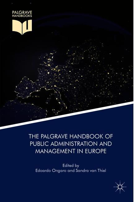 Cover of 'The Palgrave Handbook of Public Administration and Management in Europe'