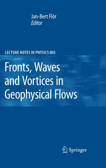 Cover of 'Fronts, Waves and Vortices in Geophysical Flows'