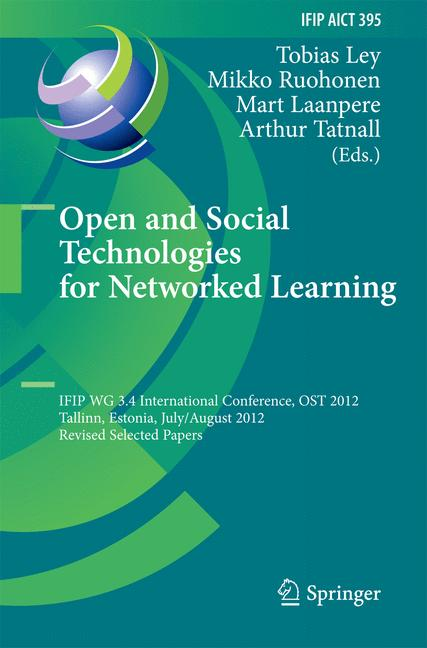 Cover of 'Open and Social Technologies for Networked Learning'