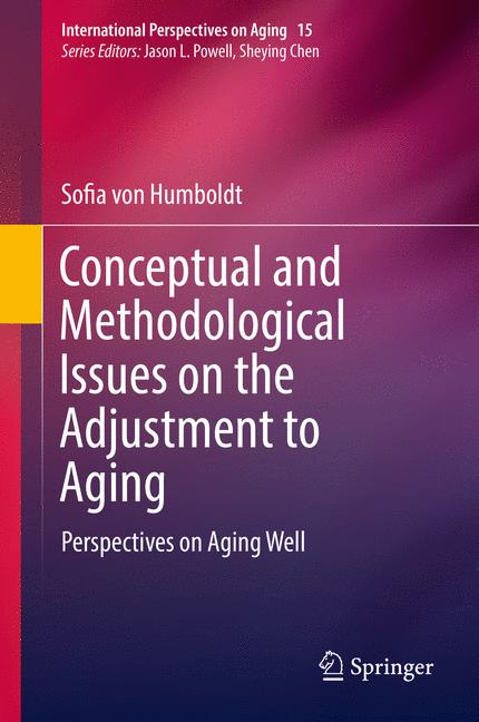 Cover of 'Conceptual and Methodological Issues on the Adjustment to Aging'