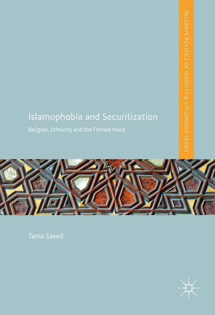 Cover of 'Islamophobia and Securitization'