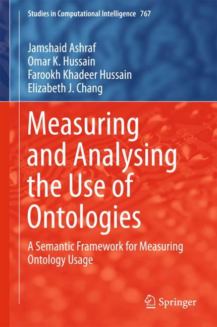 Cover of 'Measuring and Analyzing the Use of Ontologies'