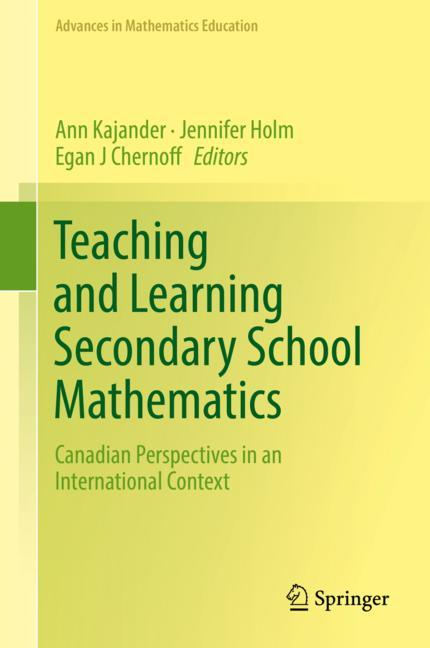 Cover of 'Teaching and Learning Secondary School Mathematics'