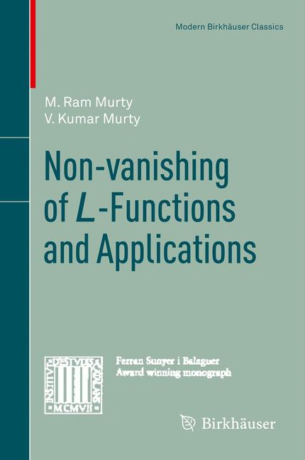 Cover of 'Non-vanishing of L-Functions and Applications'