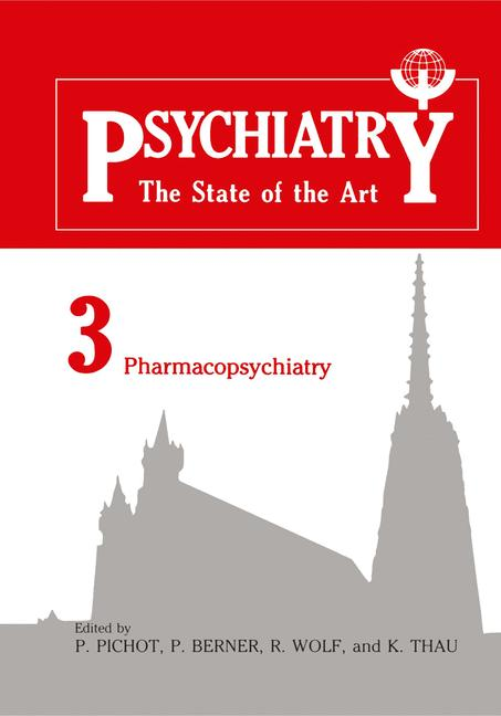 Cover of 'Psychiatry the State of the Art'