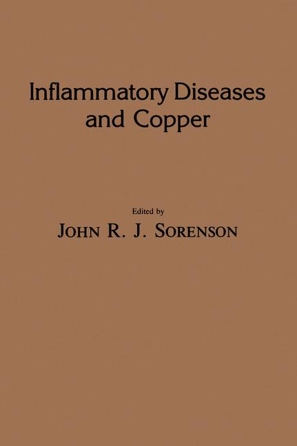Cover of 'Inflammatory Diseases and Copper'