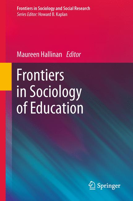 Cover of 'Frontiers in Sociology of Education'