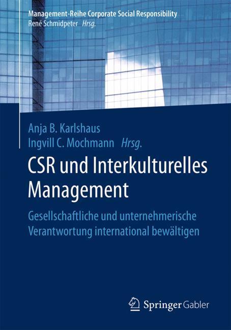 Cover of 'CSR und Interkulturelles Management'