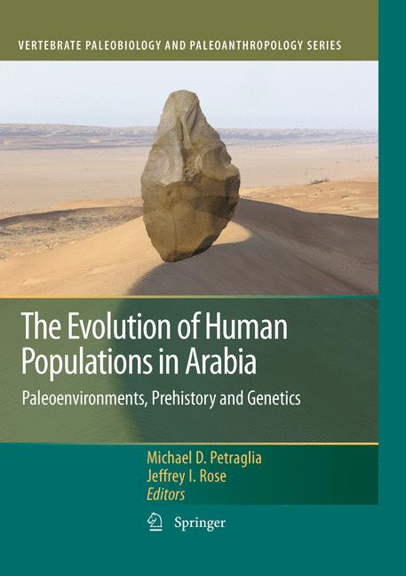 Cover of 'The Evolution of Human Populations in Arabia'