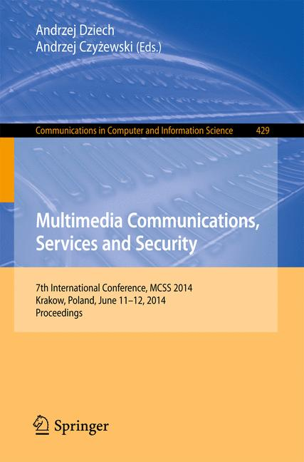 Cover of 'Multimedia Communications, Services and Security'