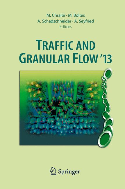 Cover of 'Traffic and Granular Flow '13'