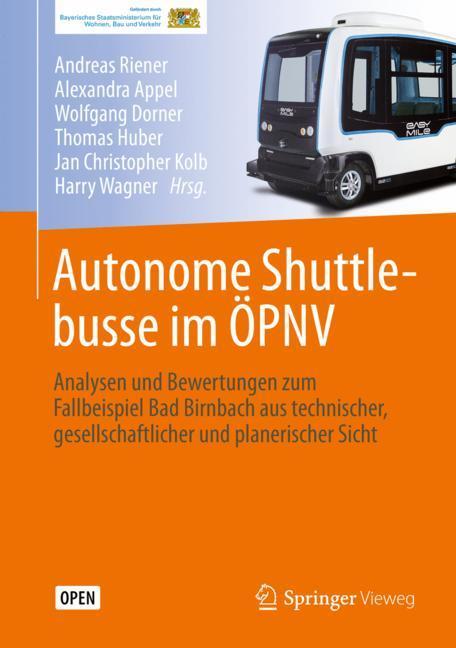 Cover of 'Autonome Shuttlebusse im ÖPNV'