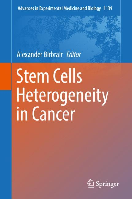 Cover of 'Stem Cells Heterogeneity in Cancer'