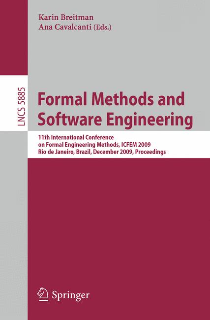 Cover of 'Formal Methods and Software Engineering'