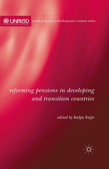 Cover of 'Reforming Pensions in Developing and Transition Countries'