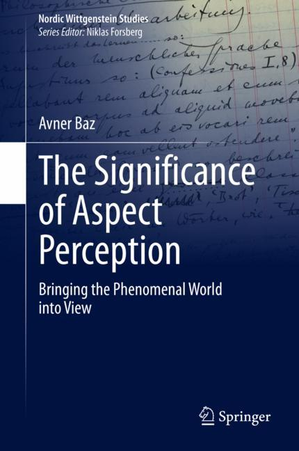 Cover of 'The Significance of Aspect Perception'