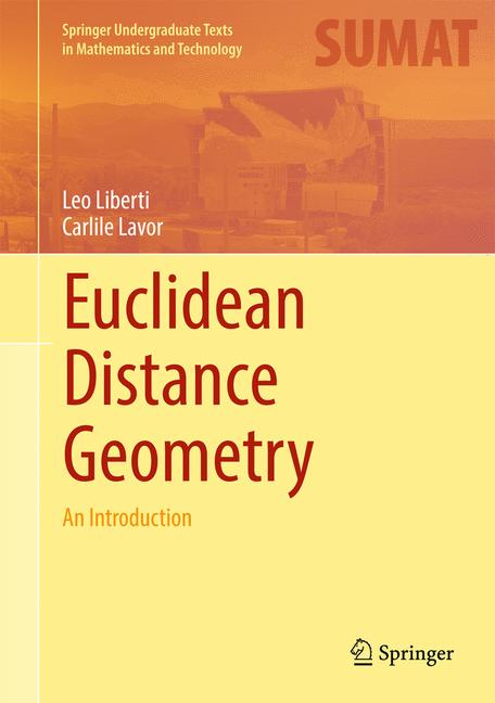 Cover of 'Euclidean Distance Geometry'