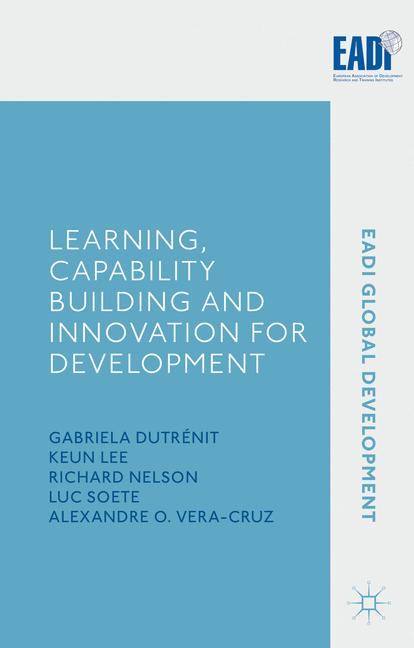 Cover of 'Learning, Capability Building and Innovation for Development'