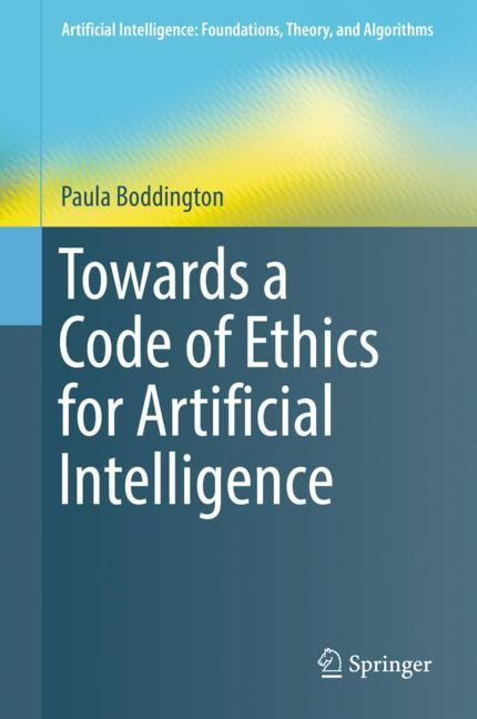 Cover of 'Towards a Code of Ethics for Artificial Intelligence'