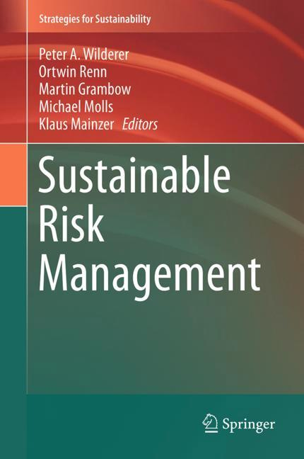 Cover of 'Sustainable Risk Management'