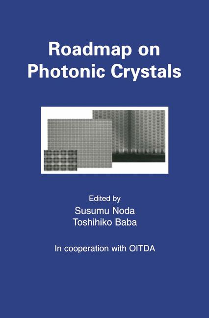 Cover of 'Roadmap on Photonic Crystals'