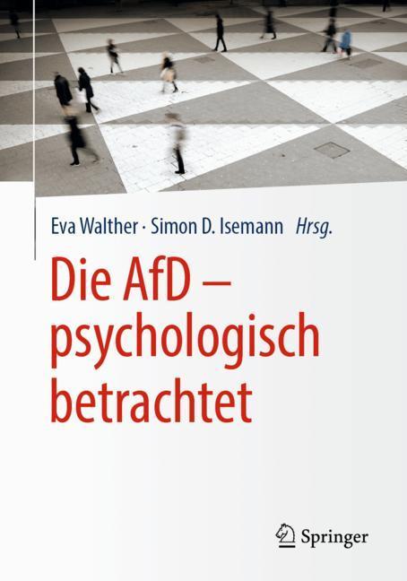 Cover of 'Die AfD – psychologisch betrachtet'