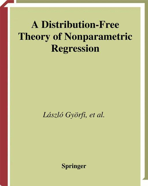 Cover of 'A Distribution-Free Theory of Nonparametric Regression'