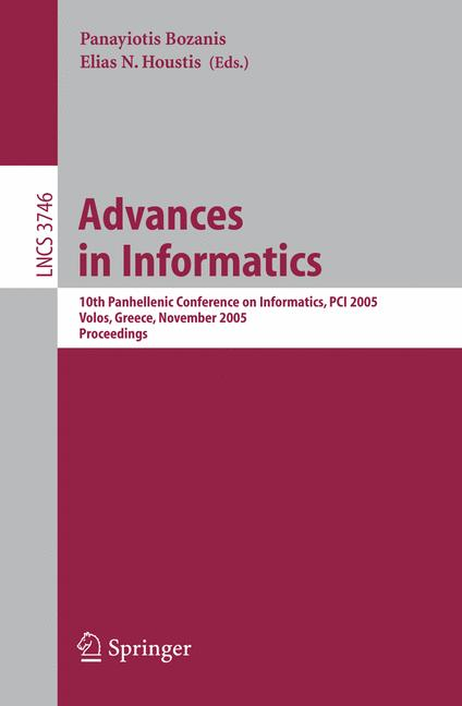 Cover of 'Advances in Informatics'