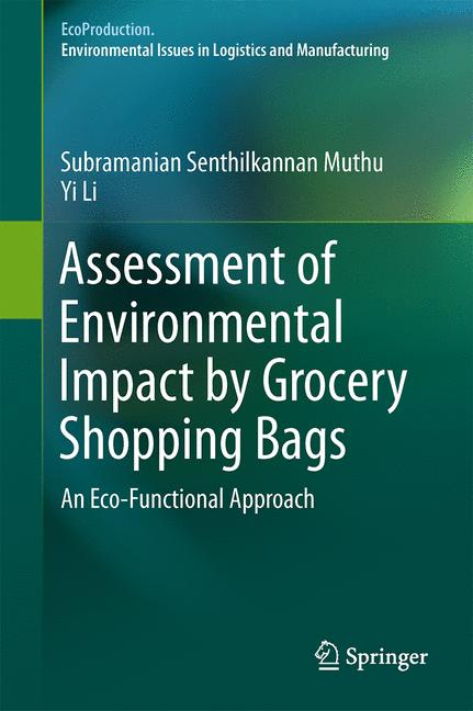 Cover of 'Assessment of Environmental Impact by Grocery Shopping Bags'