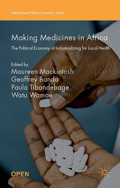 Cover of 'Making Medicines in Africa'