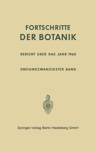 Cover of 'Bericht über das Jahr 1960'