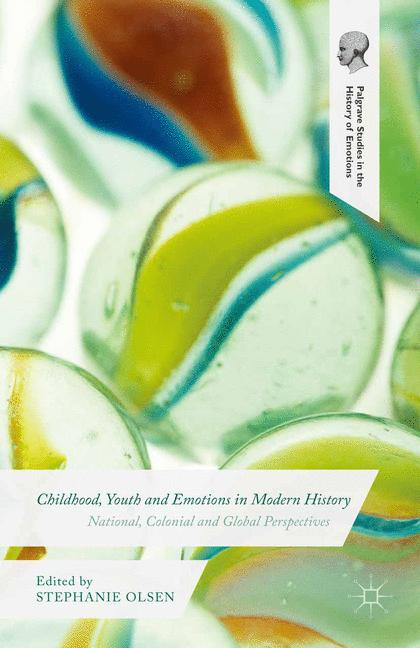 Cover of 'Childhood, Youth and Emotions in Modern History'