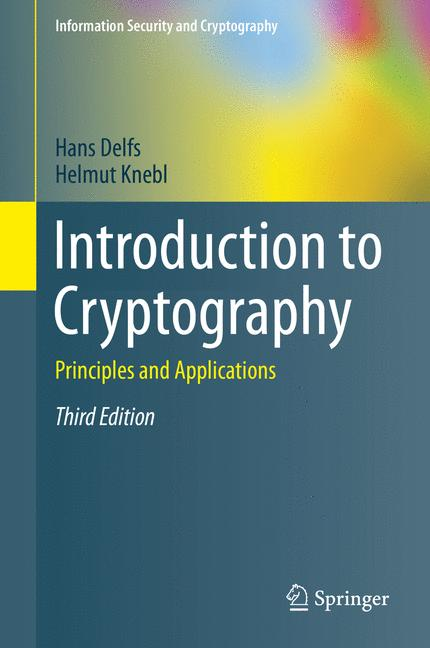 Cover of 'Introduction to Cryptography'