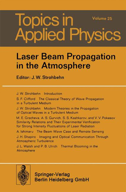 Cover of 'Laser Beam Propagation in the Atmosphere'