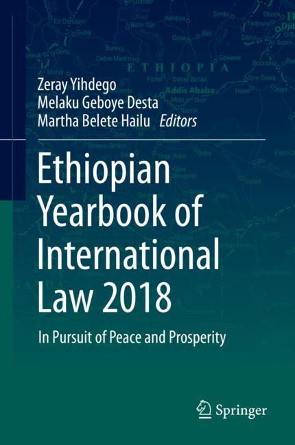Cover of 'Ethiopian Yearbook of International Law 2018'
