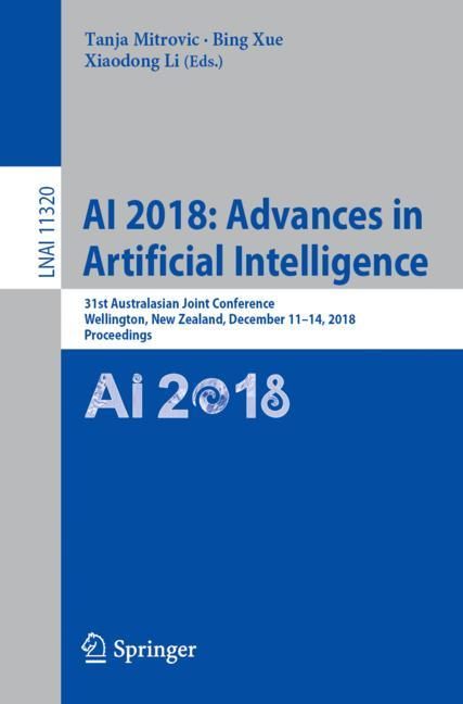 Cover of 'AI 2018: Advances in Artificial Intelligence'