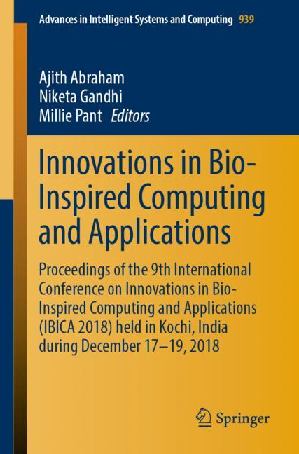 Cover of 'Innovations in Bio-Inspired Computing and Applications'