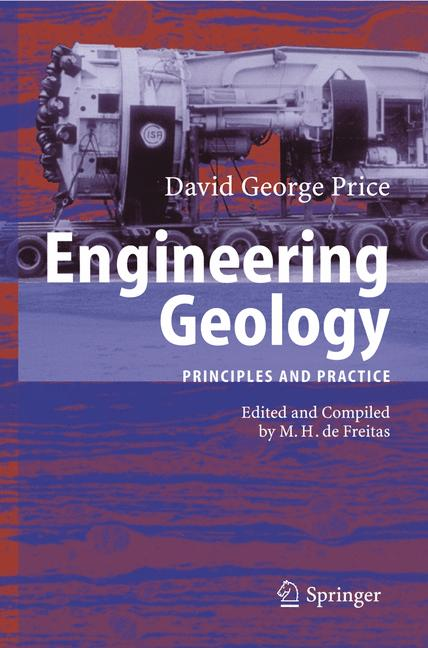 Cover of 'Engineering geology : principles and practice'