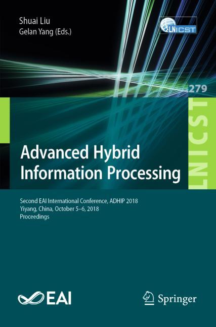 Cover of 'Advanced Hybrid Information Processing'