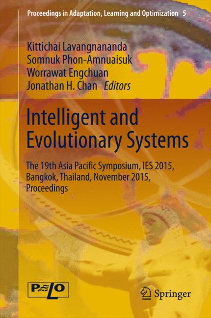 Cover of 'Intelligent and Evolutionary Systems'