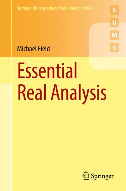 Cover of 'Essential Real Analysis'