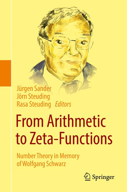Cover of 'From Arithmetic to Zeta-Functions'