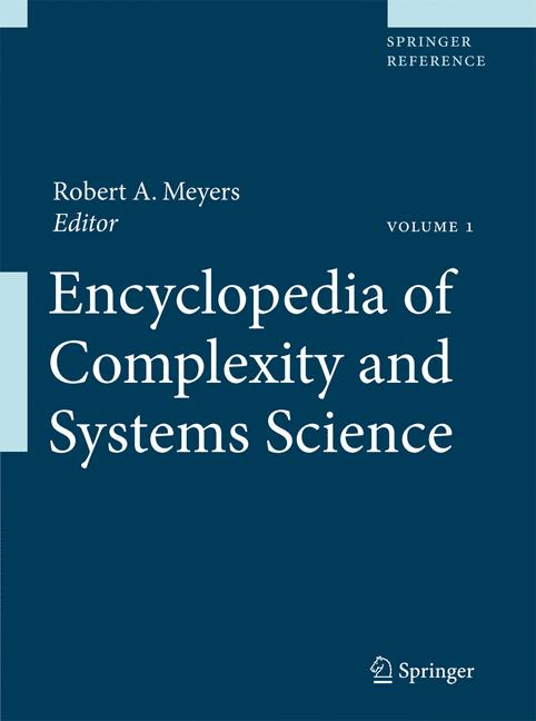 Cover of 'Encyclopedia of Complexity and Systems Science'