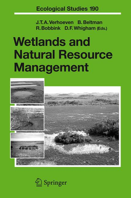 Cover of 'Wetlands and Natural Resource Management'
