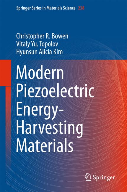 Cover of 'Modern Piezoelectric Energy-Harvesting Materials'
