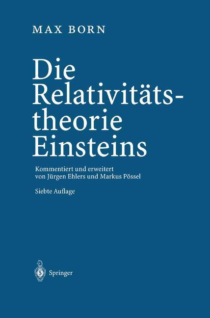 Cover of 'Die Relativitätstheorie Einsteins'
